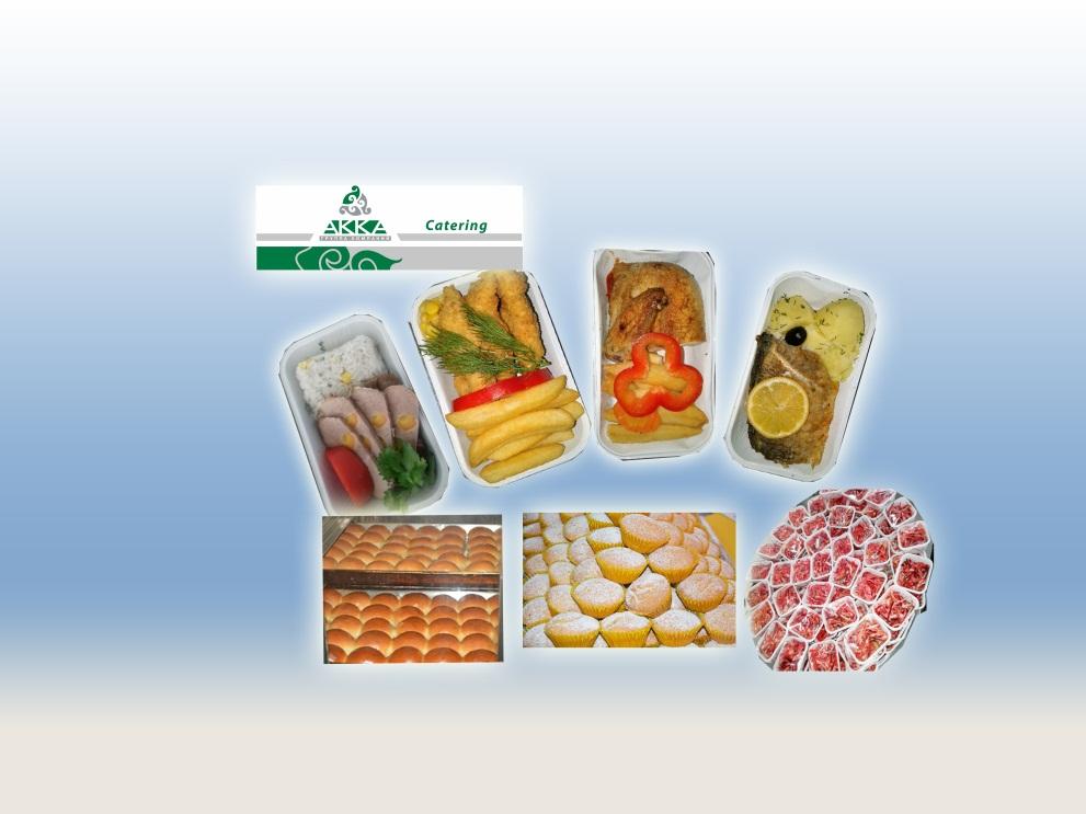 В ассортименте ЦБП – широкий выбор горячих блюд, холодных закусок, десертов, кондитерских изделий, включающих как стандартные рационы (горячее, холодное, консервированное, легкое питание), так и специальные виды рационов (мусульманское, восточное, вегетарианское, детское и т. д.). Перевозка бортового питания осуществляется специальными машинами (автолифтами), что позволяет обслуживать самолеты любых типов.