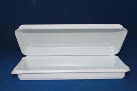 Снекс-бокс </br> Размер:  63х109х50 </br> Цвет: белый </br> Упаковка: 500 шт. </br> Цена: 0,25 USD