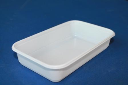 Салатница к ланч-боксу </br> Размер: 145х85х30 </br> Цвет: белый </br> Упаковка: 2000 шт. </br> Цена: 0,05 USD